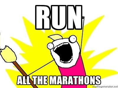 Run All the Marathons